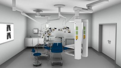 Trilux Ausstattung eines Operationssaals
